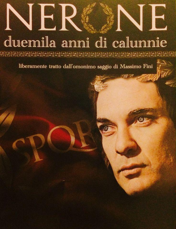#Nerone ~ Edoardo Sylos Labini #Teatro #Manzoni #Milano
