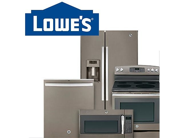 Up to 30% Off Lowe's Major Appliances Sale Sale (lowes.com)