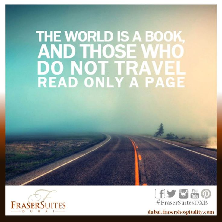 Travelquote The world is