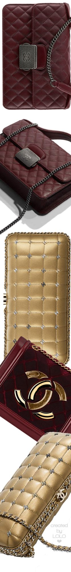 Chanel Fall/Winter 2016/17 Bags | LOLO❤︎