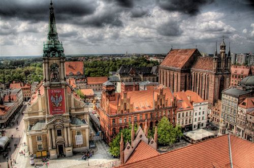 torun, poland.   A quiet place, that most people do not even know of. But the history is amazing.