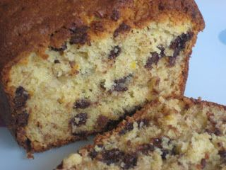Rachel Allen's banana bread with orange zest and chocolate chips