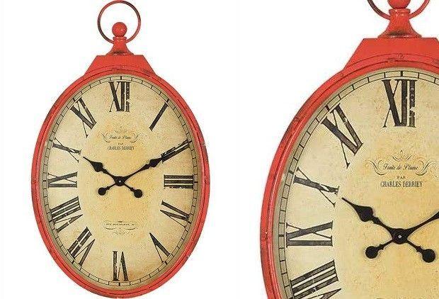 Clocks – Decor Objects :     Red Clock | Pocket Watch Wall Clock    -Read More –   - #Clocks https://decorobject.com/decorative-objects/clocks/clocks-decor-objects-red-clock-pocket-watch-wall-clock/