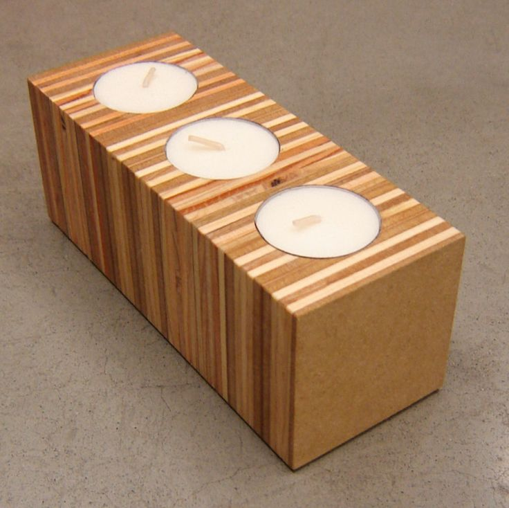 Checkout this amazing deal USA Made Modern Candle Holder,$28