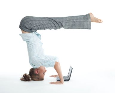 Arm Balances for new moms...the whole package!