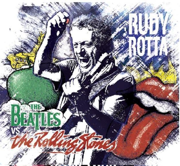 """Rudy Rotta ritorna con """"The Beatles vs The Rolling Stones"""", un grande tributo alle due leggendarie rock band. Il celebre bluesman italiano, che ha condiviso il palco e collaborato con mostri sacri del genere come B.B King, John Mayall, Robben Ford, Brian Auger ed Etta James, rivisita e confronta, con il suo inconfondibile stile, alcune tra le pietre miliari delle due leggendarie band; il disco sarà presentato ufficialmente a Soiano del Lago, in provincia di Brescia, il 24 luglio."""