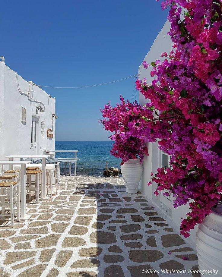 Naousa: The most beautiful village  in Paros island. Enjoy the rest of the day!