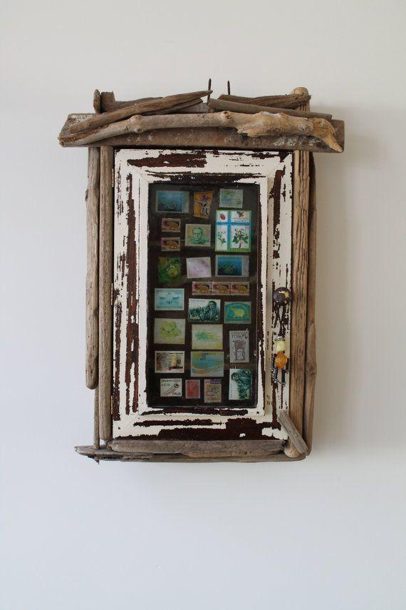 Driftwood wall art Art Bohemian cabin handmade by Kunstwarenhuis
