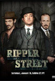 Ripper Street - weird, amazing series. Baroque richness of language, plus soap opera plots. Addictive!