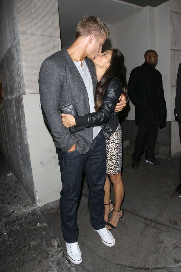 Sean Lowe  Catherine Giudici's Cute PDA Date After 'DWTS'