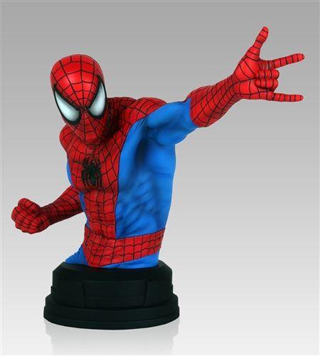 SPIDER-MAN MARK IV COSTUME MINI BUST  84fdd0acb57bb70c4badedc3da22d4bc--giant-spider-spider-man