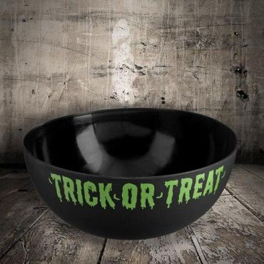 Trick Or Treat Bowl - Black