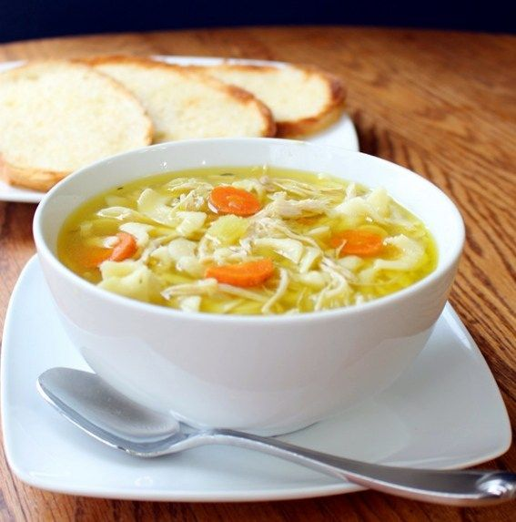 The Best Damn Chicken Noodle Soup on Earth!!! - The Ramblings of an Aspiring Small Town Girl shared at katherines corner
