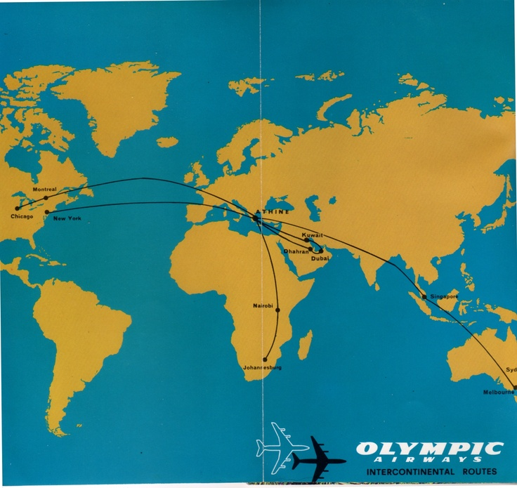 Olympic Airways 1976