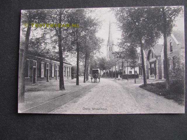 Ulvenhout 1913 - dorp