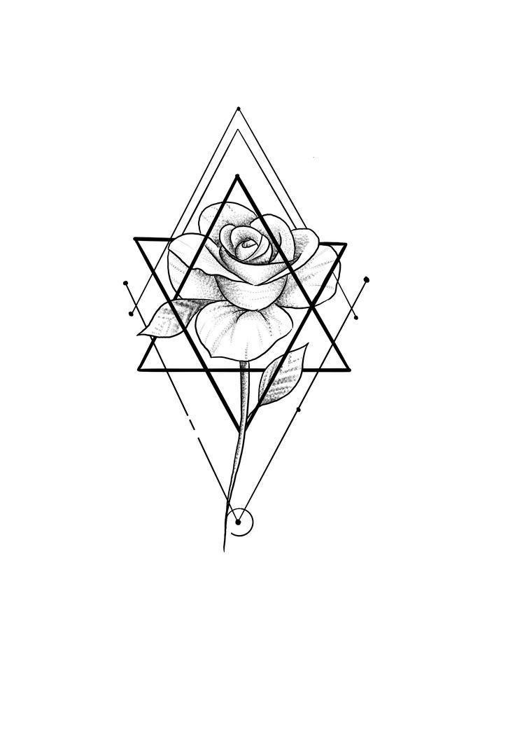 геометрия картинки тату выбрала