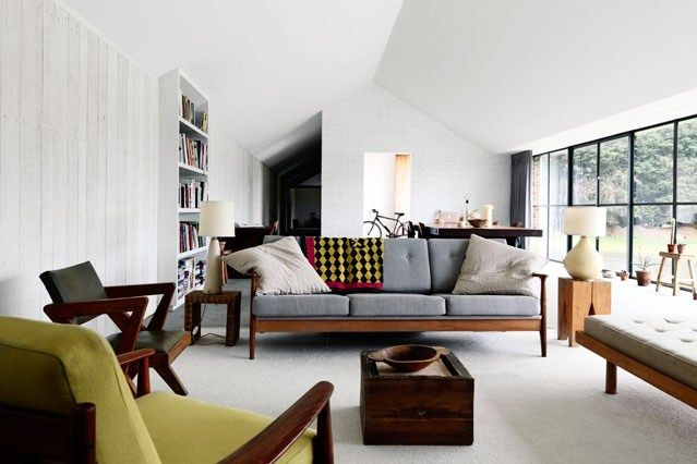 Mid Century Modern - Living Room Design Ideas & Pictures - Decorating Ideas (houseandgarden.co.uk)