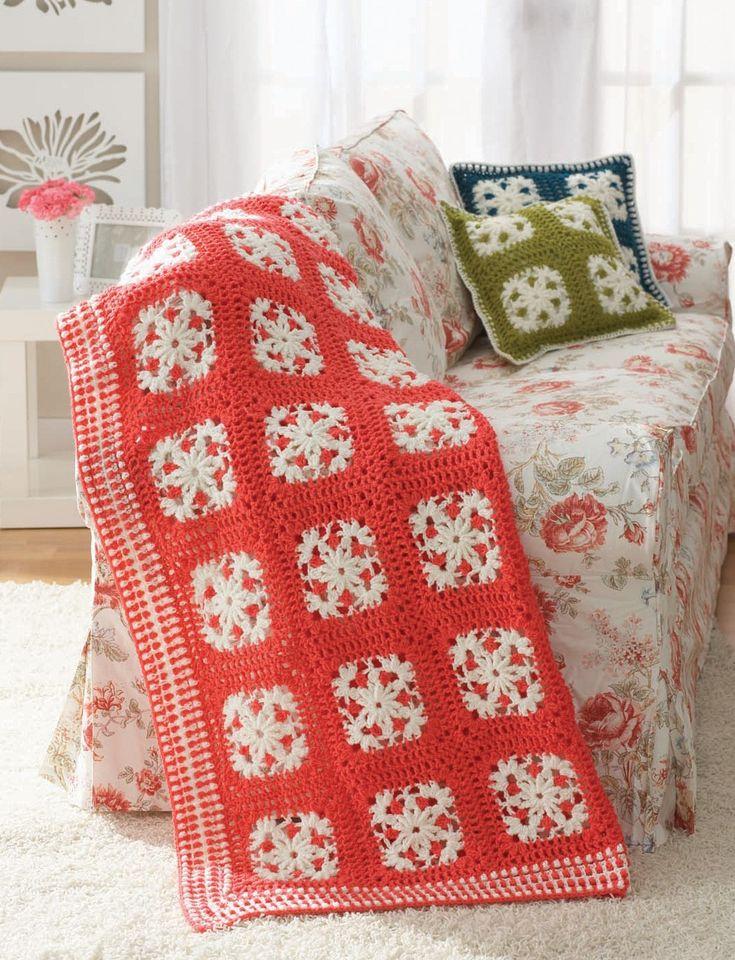 Yarnspirations Free Crochet Patterns : Yarnspirations.com - Patons Filigree Motifs - Patterns ...