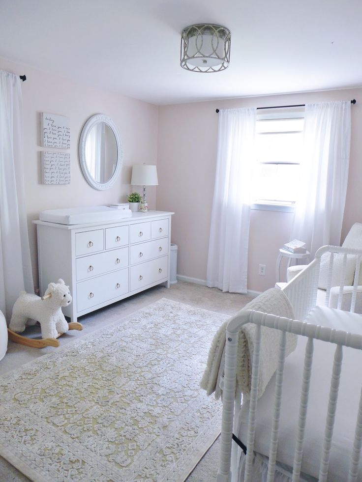 classic white nursery decorations gender neutral nurseries