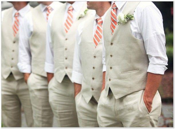 Beach Wedding Attire For Men Vest