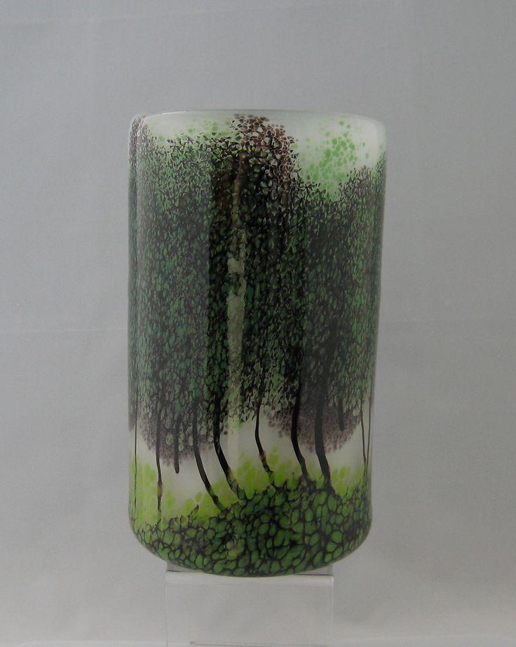 Misty Morning Wide Cylinder Vase
