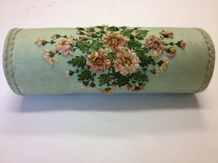 Kit: Chrysanthemum Bolster Cushion   Helen Eriksson