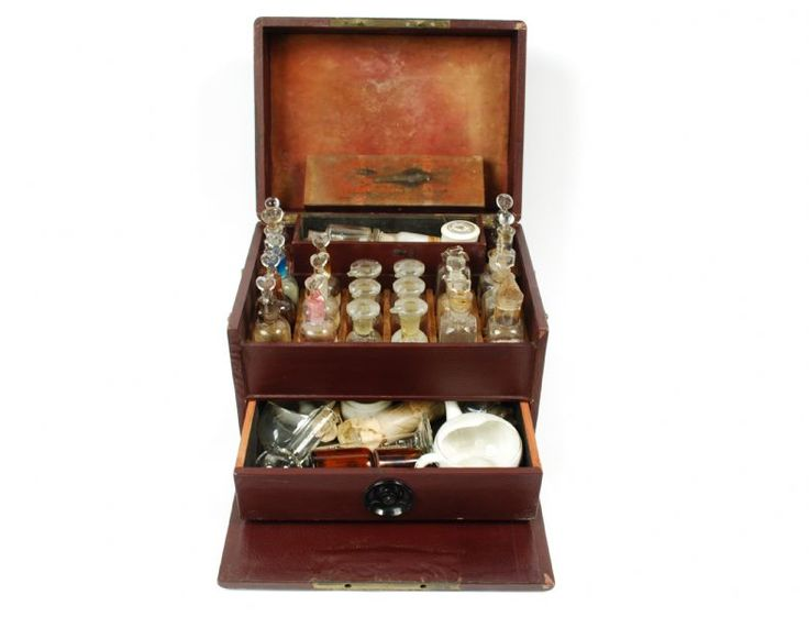 19th C 32 Drawer Apothecary Cabinet ...