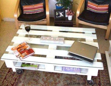 Ideas de muebles reciclados con palets