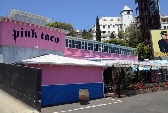 Pink Taco on the Sunset Strip: rock 'n roll Mexican restaurant i