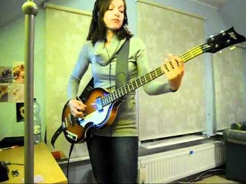 """Hello Goodbye"" (The Beatles) bass cover"