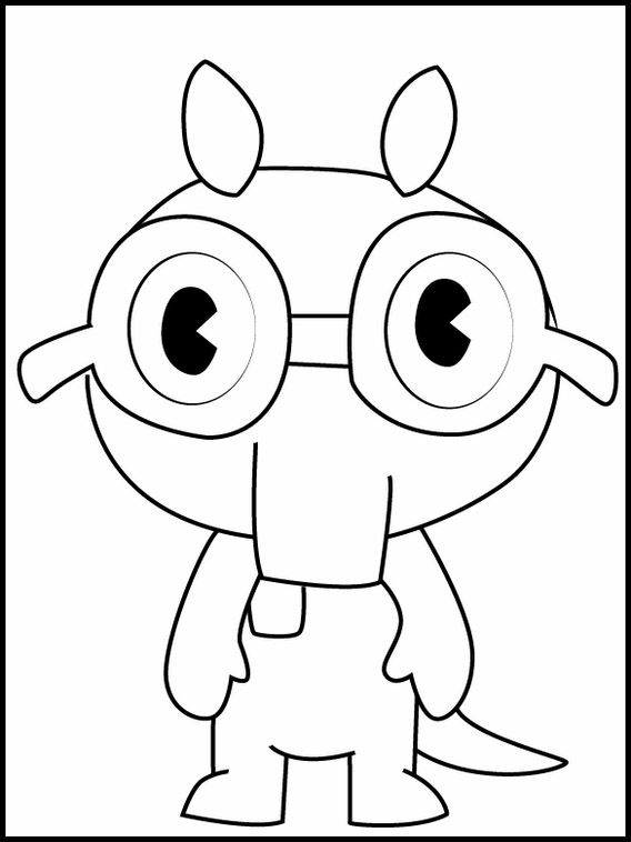 Printable Coloring Pages For Kids Happy Tree Friends 16 Dibujos