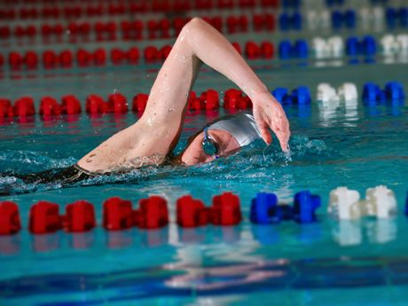 Mix up your swim workouts and get faster. Here are six one-hour workouts that will keep you energized and speed you up.