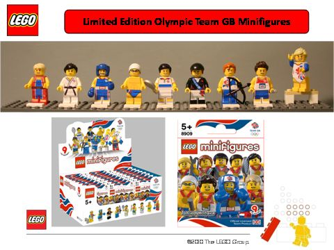 GB Exclusive Minifigs for Olympic Games