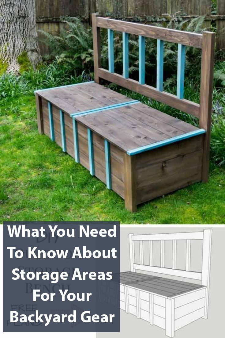 25 Useful Outdoor Toy Storage Ideas To Keep Your Family Organized Outdoor Storage Bench Diy Bench Outdoor Diy Storage Bench