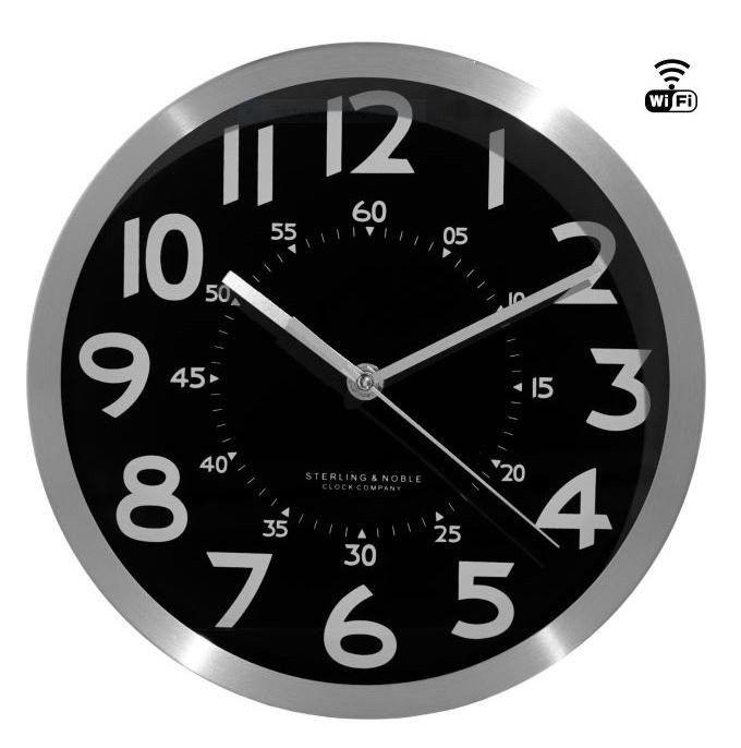 WIFI / IP Wall Clock Hidden Spy Camera Video Recorder