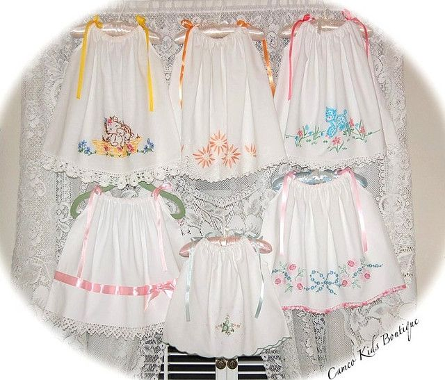 Vintage Pillowcase Dresses - Cameo Kids Boutique   Flickr - Photo Sharing!
