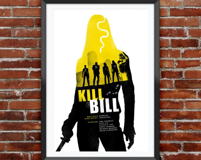 Kill Bill Movie Poster 12X18""