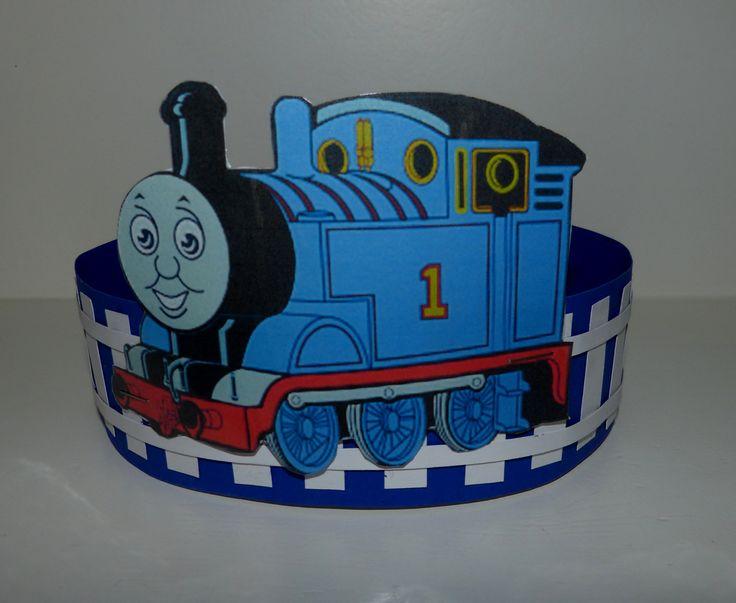 Verjaardagsmuts Thomas de trein