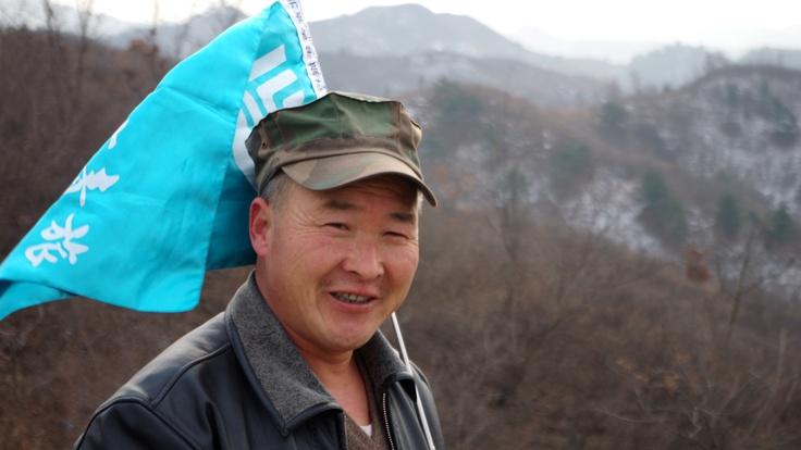 """Benny."" Tour guide. Great Wall of China, Jinshanling. Photo by Kayla Hedman"
