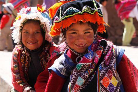 Les enfants du Soleil au Pérou...