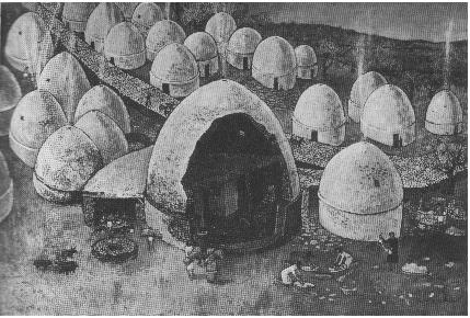 Khirokitia in Cyprus