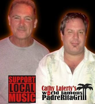 Chuck Comeaux and Chris Woods   #PadreRitaGrill #TX #SotuhPardeIsland #Food #Music #Band #Live #Fun