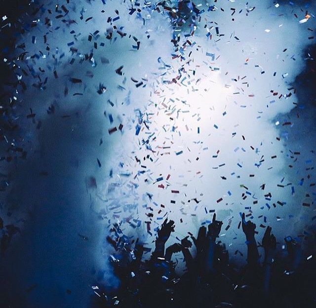 That moment the confetti pours over the crowd is like no other.