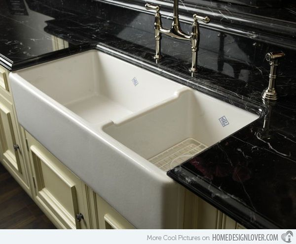 Amazing 15 Functional Double Basin Kitchen Sink