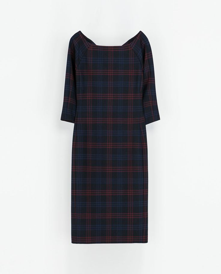Original ZARA  WOMAN  BASIC SLEEVELESS DRESS  Zara  Pinterest