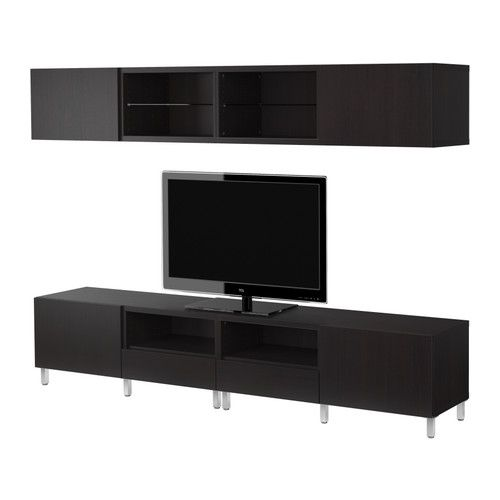 Trying to come up with a new entertainment system idea. IKEA BESTA $310.