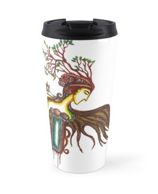 Woodland Mirkwood art mug to carry With your Prince from fairy tales