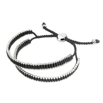 Men Bracelets, New Double Wrap Black Mens #LinksXmasWishlist