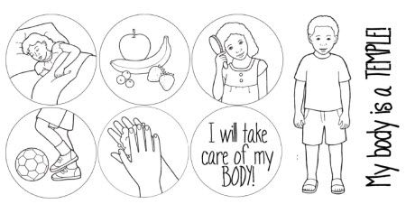 My body is a temple (handout)