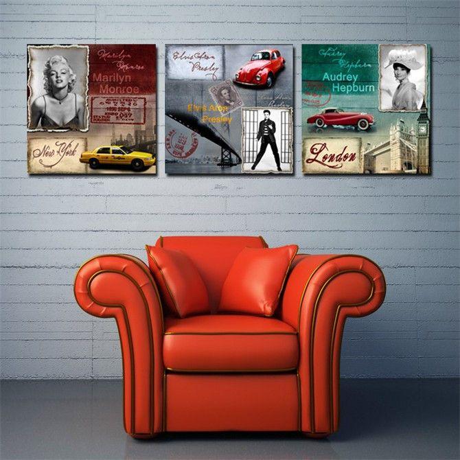 70 best images about cuadros y adornos de pared on pinterest - Cuadros audrey hepburn ...